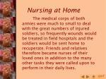 nursing at home