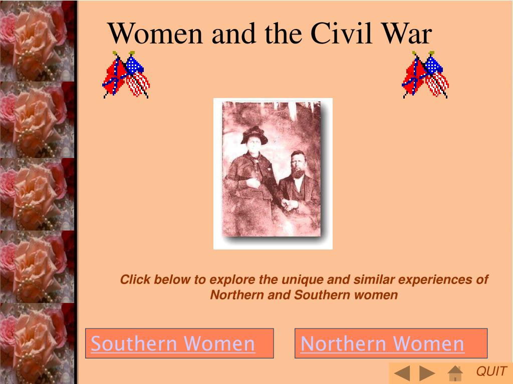 women and the civil war l.