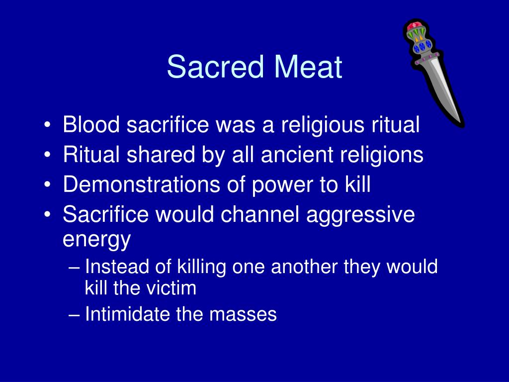 Sacred Meat