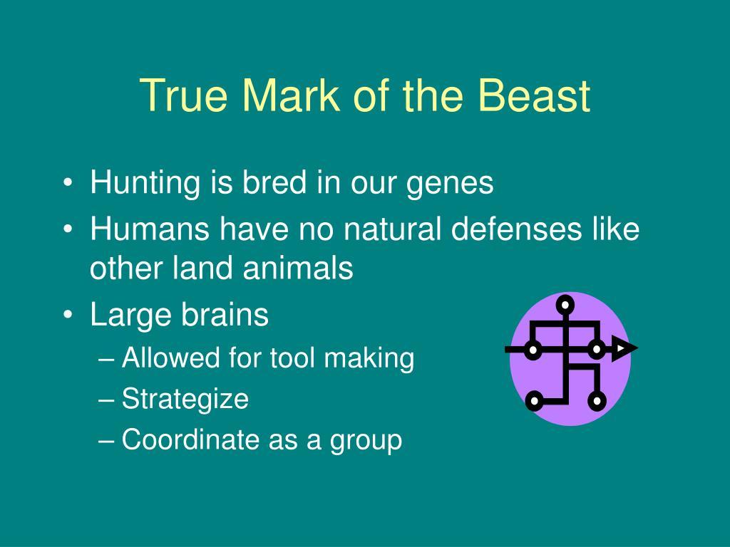 True Mark of the Beast