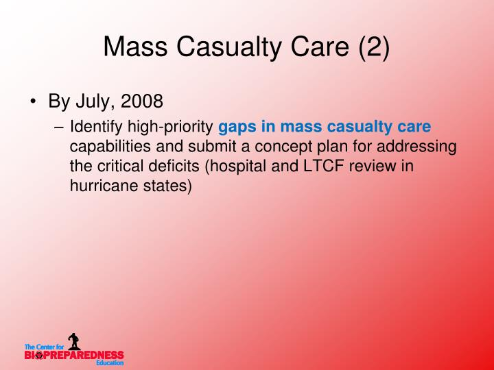 Mass Casualty Care (2)