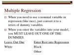 multiple regression40