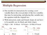 multiple regression51