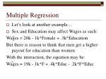 multiple regression52