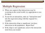 multiple regression54