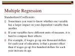 multiple regression55