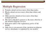 multiple regression65