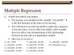 multiple regression68