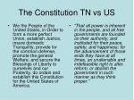 the constitution tn vs us