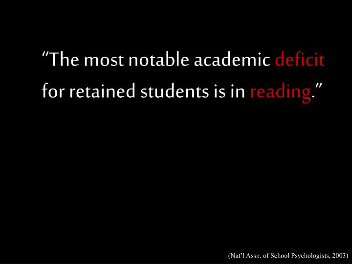 """""""The most notable academic"""