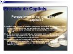mercado de capitais15