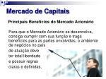 mercado de capitais16