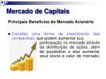 mercado de capitais18