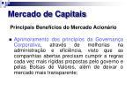 mercado de capitais20