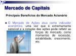 mercado de capitais22