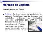 mercado de capitais25