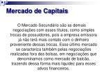 mercado de capitais6