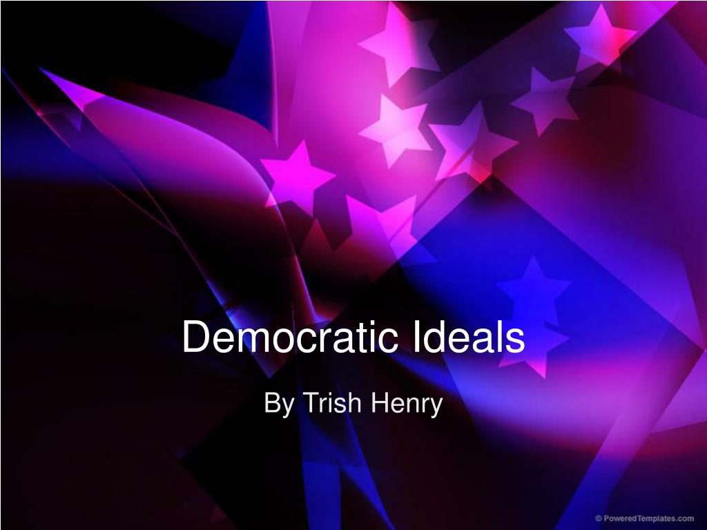 democratic ideals l.