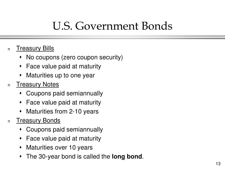 U.S. Government Bonds