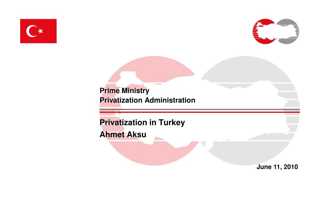 prime ministry privatization administration l.