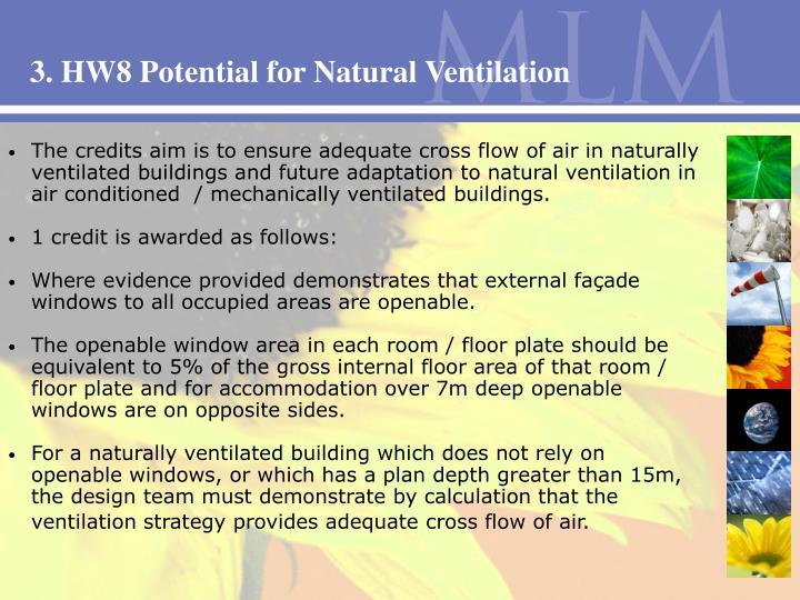 3. HW8 Potential for Natural Ventilation