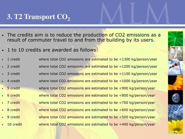 3. T2 Transport CO