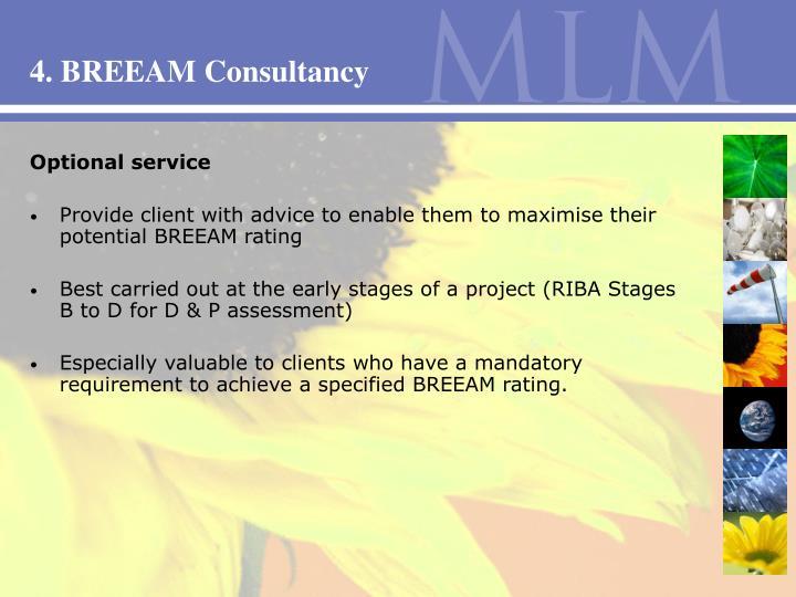 4. BREEAM Consultancy
