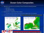 ocean color composites