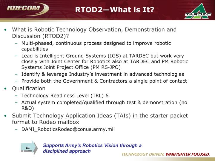 Rtod2 what is it