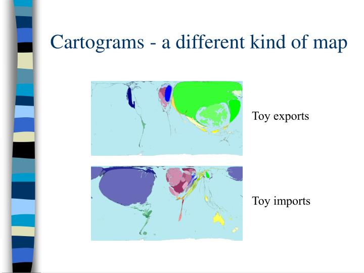 Cartograms - a different kind of map