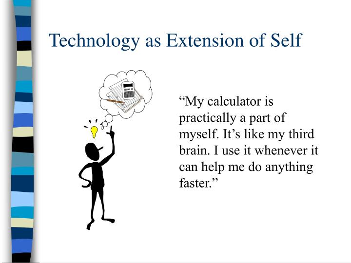 Technology as Extension of Self