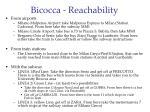 bicocca reachability