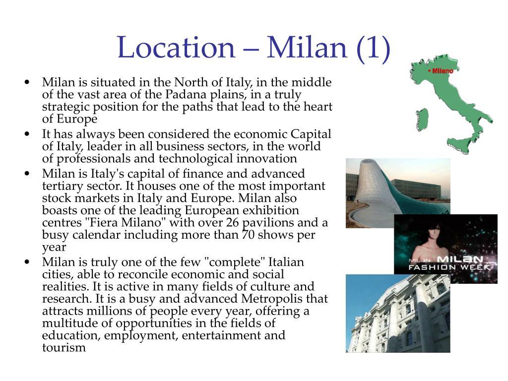 Location – Milan (1)