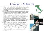location milan 1