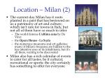 location milan 2