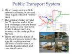 public transport system