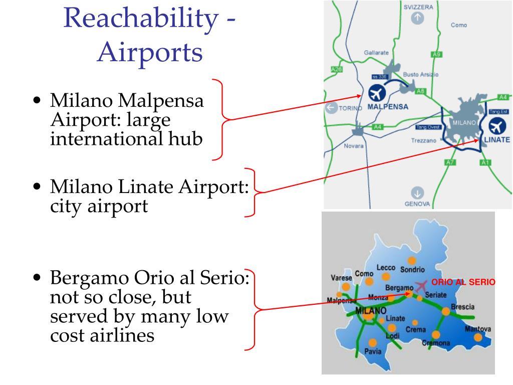 Reachability - Airports