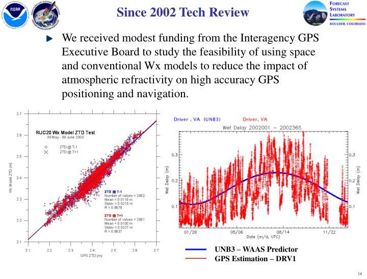 Since 2002 Tech Review