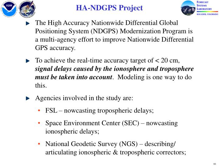 HA-NDGPS Project