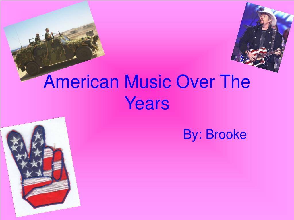 american music over the years l.