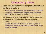 cromosfera y filtros28