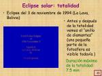 eclipse solar totalidad