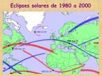 eclipses solares de 1980 a 2000