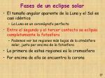 fases de un eclipse solar17