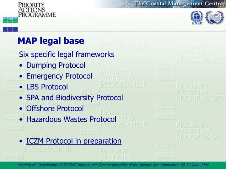 MAP legal base