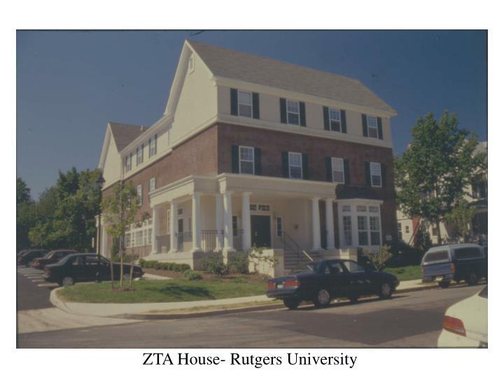 ZTA House- Rutgers University