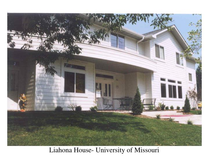 Liahona House- University of Missouri