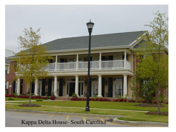 Kappa Delta House- South Carolina