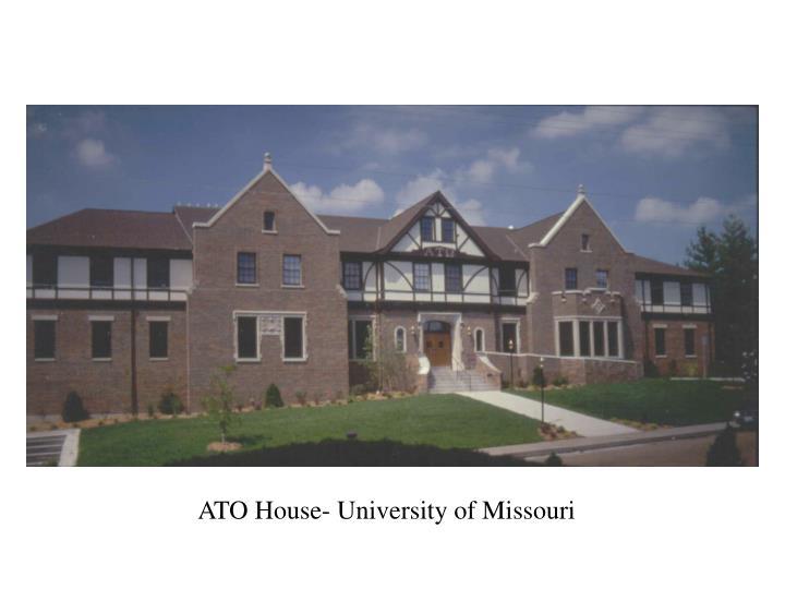 ATO House- University of Missouri