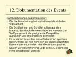 12 dokumentation des events94